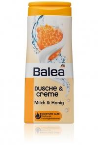 Душ-гель Balea Dusche молоко+мёд 300ml