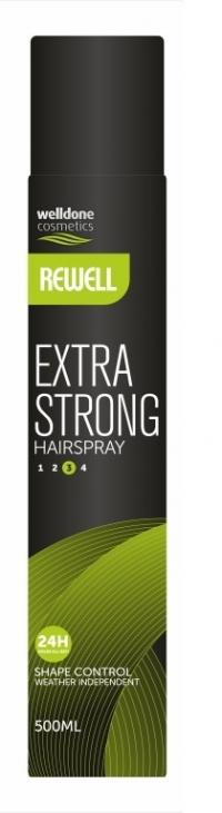 Лак для волос  Rewell Hair spray Extra Strong 500ml
