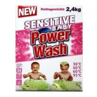 Power Wash Порошок 600гр.Sensitive детский