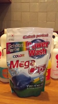 Power Wash Капсулы для стирки (60шт)