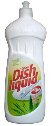Жидкость для мытья посуды Sensitive aloe dishwashing 1l