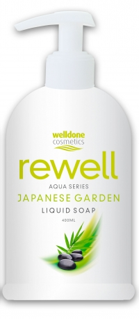 Жидкое мыло Rewell Japanese Garden 400ml