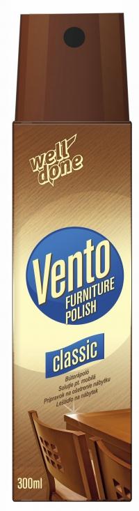 Спрей для полировки мебели Vento Classic, 300мл