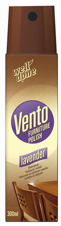 Спрей для полировки мебели Vento Lavender, 300мл