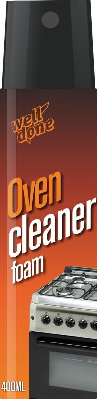 Пена для чистки духовок Oven Cleaner foam) 400ml