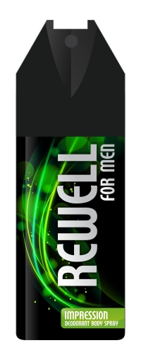 мужской Дезодорант-спрей Rewell Impression 150ml