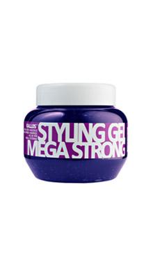 KALLOS гель MEGA STRONG HOLD STYLING GEL 275мл(мега сильной фиксации)