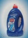 Power Wash Гель для стирки 4л. морской бриз синий
