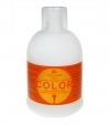 Kallos KJMN Color  Shampoo with linseed oil 1000мл с льняным маслом