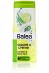 Душ-гель Balea Dusche&Creme Limette&Aloe Vera 300ml (Алое вера+Лайм)