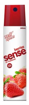 Освежитель воздуха Sense 2v1 Berries, 300мл