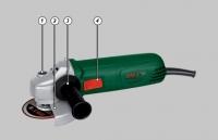 Кутова шліфувальна машина DWT WS08-125 R