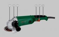 Угловая шлифовальная машина.WS10-125Т