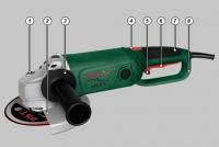 Угловая шлифовальная машина.WS24-230D