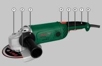 Угловая шлифовальная машина.WS24-230T