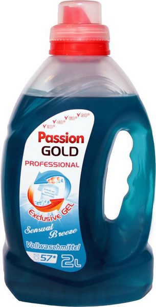 Passion Gold Sensual Breeze Volwaschmittel Gel 2l